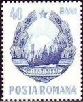 Stamps : Europe : Romania :  Escudo de Armas
