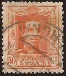 Stamps : Europe : Spain :  Alfonso XIII. Tipo Vaquer  1922 50 cents