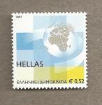 Sellos de Europa - Grecia -  El mundo