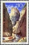 Stamps : Europe : Romania :  Turismo