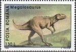 sellos de Europa - Rumania -  Animales prehistóricos 1994