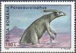 Stamps Romania -  Animales prehistóricos 1994