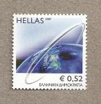 Stamps Greece -  La tierra