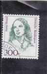 Stamps : Europe : Germany :  Fanny Hensel- compositora