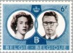 Sellos del Mundo : Europa : Bélgica : Boda Boudewijn y Fabiola