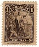 Stamps : America : Paraguay :  Desembarco de Colon