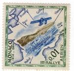 Stamps : Europe : Monaco :  vista aerea