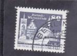 Stamps : Europe : Germany :  panorámica de Rostock