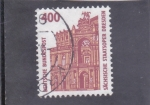 Sellos de Europa - Alemania -  edificio en Dresden