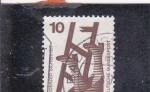 Stamps : Europe : Germany :  seguridad