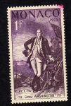 Stamps : Europe : Monaco :  George Washington