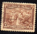 Stamps : America : Colombia :  Cafe suave