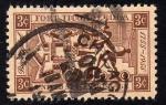 Stamps : America : United_States :  2o. Cent del Fuerte de Ticonderoga