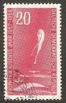 Stamps Germany -  327 - Año internacional geofisico