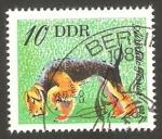 de Europa - Alemania -  1832 - Perro terrier