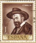 Stamps Spain -  JOSE MARIA SERT - Autoretrato