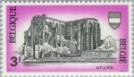 Stamps Belgium -  Abadía de Aulne