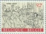 Stamps Belgium -  Erasmus y su tiempo
