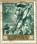 Stamps Spain -  JOSE MARIA SERT - Cristo dicta reglas