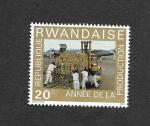 Stamps : Africa : Rwanda :  Año de Producción