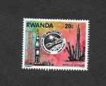 Stamps of the world : Rwanda :  APOLO SOYOUZ