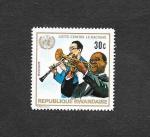 Stamps : Africa : Rwanda :  Luchar contra el racismo
