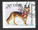 Sellos del Mundo : Europa : Alemania :  1833 - perro berger alemán
