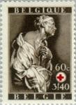 Stamps Belgium -  Cruz Roja de Belgische