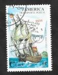 sello : America : Cuba : 3418 - Upaep-América, Transporte postal marítimo