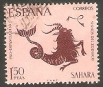 de Africa - Marruecos -  sahara español - 266 - Capricornio, Signo del Zodiaco