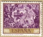Sellos de Europa - España -  JOSE MARIA SERT - Evocacion de Toledo