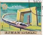 Sellos del Mundo : Asia : Emiratos_Árabes_Unidos : EXPO`70 OSAKA