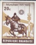 Stamps Rwanda -  JUEGOS OLIMPICOS MUNICH-72