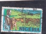 Stamps : Africa : Nigeria :  LA CRÍA DE GANADO