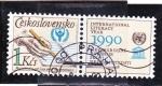 Sellos de Europa - Checoslovaquia -  AÑO INTERNACIONAL DE LA LITERATURA-UNESCO