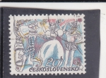 Sellos del Mundo : Europa : Checoslovaquia : ilustración