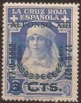 de Europa - España -  Cruz Roja Reina Victoria Eugenia  1927  3 cents