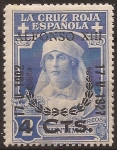 de Europa - España -  Cruz Roja Reina Victoria Eugenia  1927  4 cents