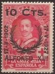 de Europa - España -  Cruz Roja Alfonso XIII  1927  10 cents