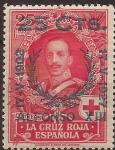 de Europa - España -  Cruz Roja Alfonso XIII  1927 25 cents