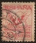 de Europa - España -  Pegaso. Correspondencia Urgente  1929  20 cents