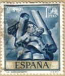 Sellos de Europa - España -  JOSE MARIA SERT - La audacia