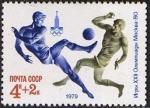 Sellos de Europa - Rusia -  Juegos Olímpicos de Verano 1980 (X)