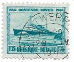 Sellos de Europa - Bélgica -  Shipconnection Oostende-Dover