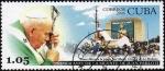 Sellos de America - Cuba -  Juan Pablo II