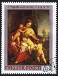 Stamps : Europe : Hungary :  COL-