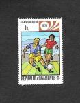 Sellos de Asia - Maldivas -  Campeonato del Mundo de Futbol