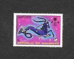 Stamps : Asia : Maldives :  Zodiaco