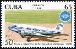 Sellos de America - Cuba -  ICAO, 5oth anniversario