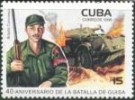 Stamps Cuba -  40 aniversario de la batalla de Guisa